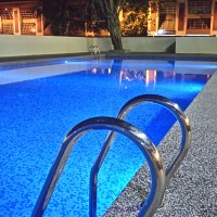 Pool - night view
