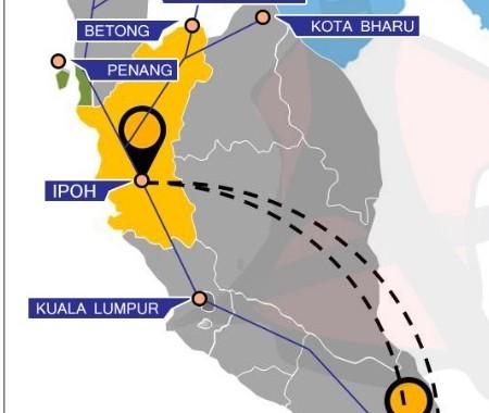 Getting to Ipoh, Perak