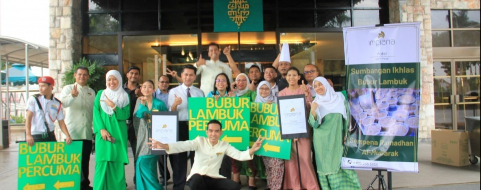 Bubur Lambok Distribution Programme at Impiana Hotel Ipoh 14th MAY 2019