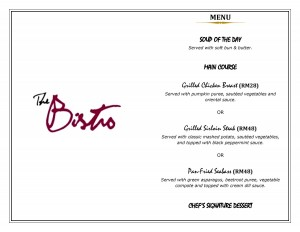 Set Dinner Menu A Bistro_1